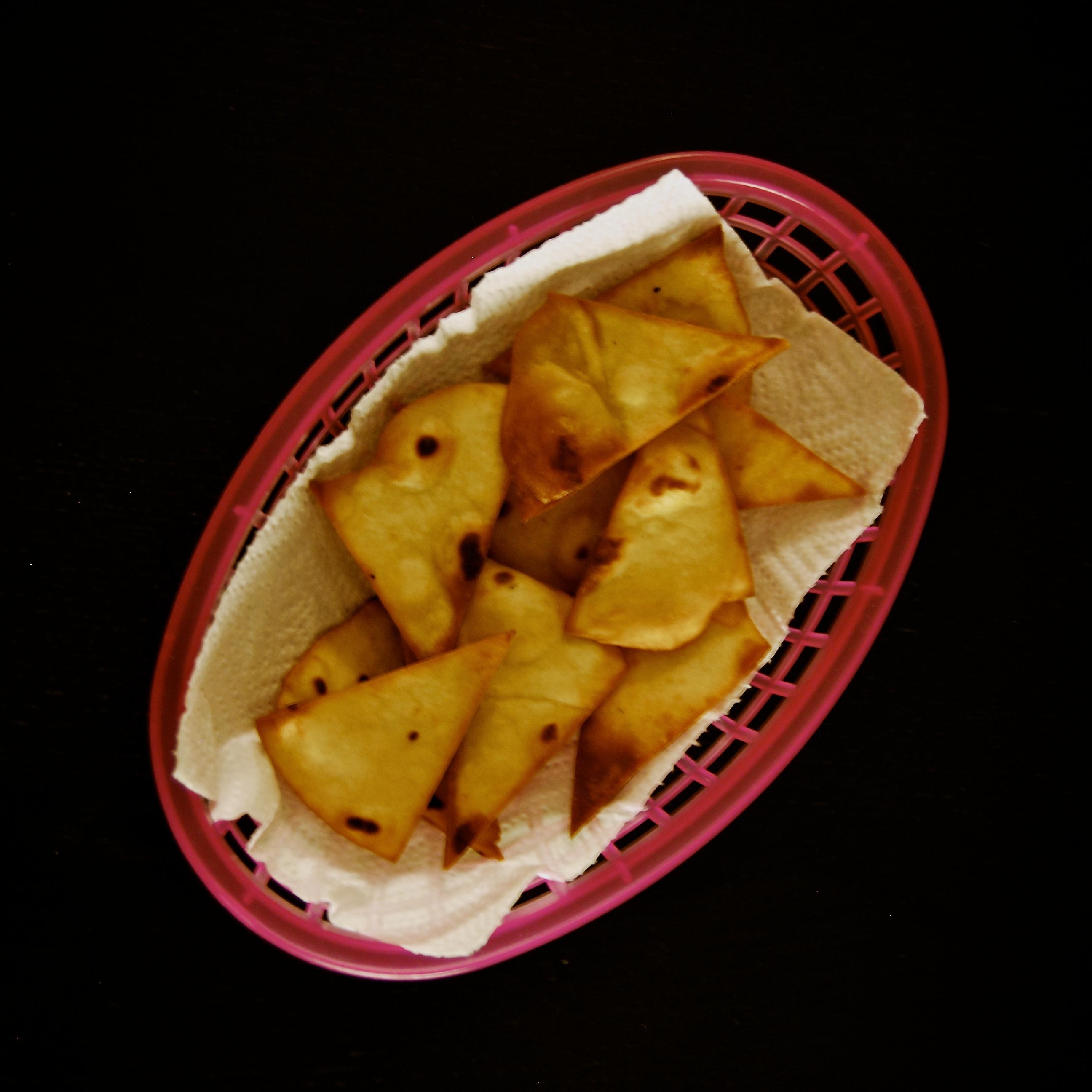 Hemmagjorda tortillachips
