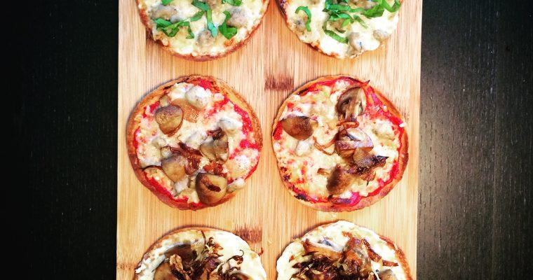 Perfekt tortillapizza – 3 olika varianter